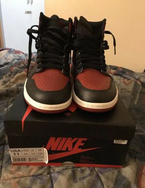 WANT LAST LONG!!! JORDAN BRED/BANNED 2016 RELEASE SZ 11 100% AUTHENTIC for Sale in Mint Hill, NC