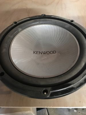 """Kenwood 12"""" for Sale in Sacramento, CA"""