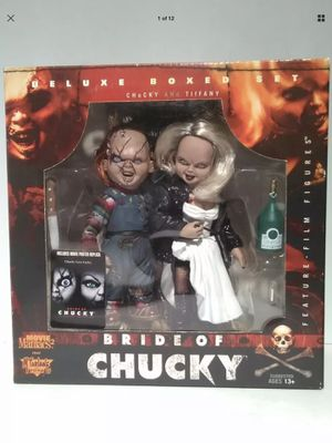 Bride of Chucky - McFarlane Toys - Movie Maniacs - Deluxe Box Set - Tiffany & Chucky - Very Rare - Brand New - Exclusive Toys for Sale in Hawthorne, CA