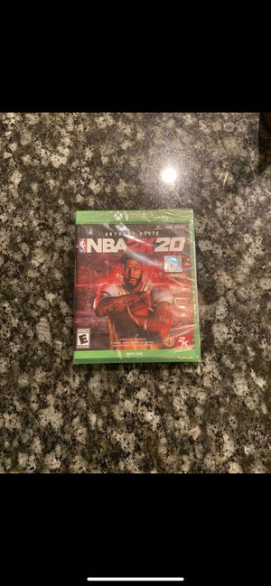 NBA2K20 - BRAND NEW - XBOX ONE for Sale in Valley Center, CA