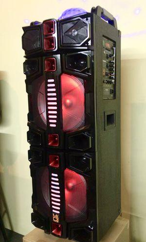 Speaker Bluetooth,radio,1🎤Karaoke,recargable para la playa 😎 ,USB,AUX,rueda,luz LD for Sale in Hialeah, FL