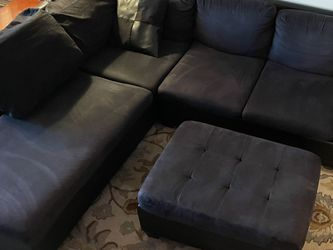 Sectional Couch and Ottoman for Sale in Brooklyn,  NY