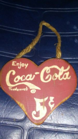 Vintage Coca-Cola 5 cent sign! for Sale in Apopka, FL