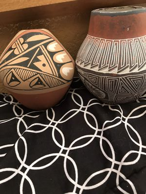 TWO NAVAJO POTTERIES for Sale in Aurora, CO