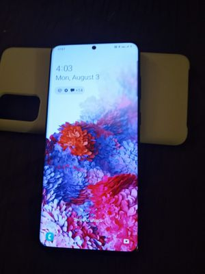 Samsung s20 + 5g like new for at@t for Sale in Ontario, CA