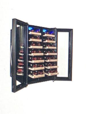 AKDY 32 bottle, dual zone , double door wine refrigerator. for Sale in Santa Maria, CA