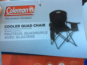 Colman cooler quad chair for Sale in Bingham Canyon, UT