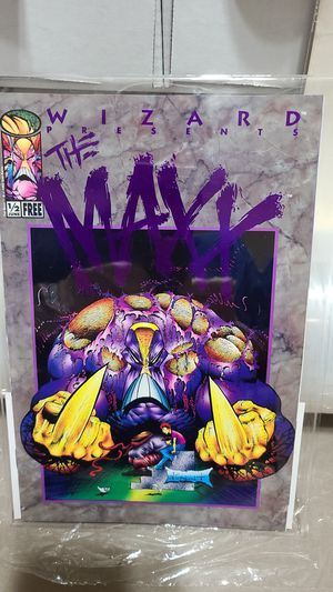 The Maxx with Certificate of Authenticity for Sale in Albuquerque, NM