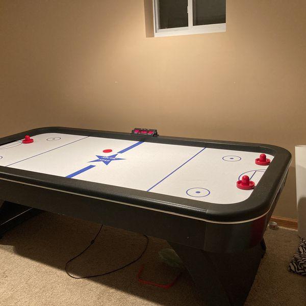 8 Foot Arctic Star Air Hockey Table