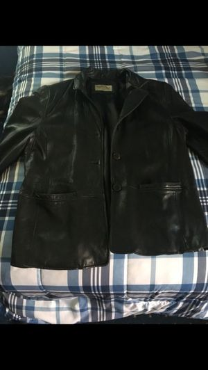 Unisex leather jacket for Sale in Cleveland, OH