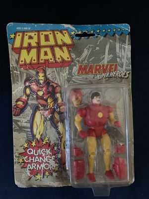 1991 Iron Man Marvel super heroes action figure. for Sale in Tehachapi, CA