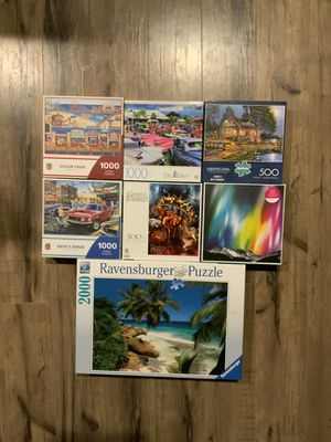 Jigsaw puzzles for Sale in Linden, NC