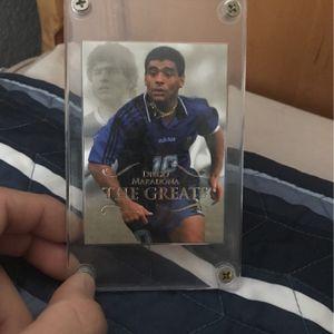 Maradona Soccer Card for Sale in Elk Grove, CA