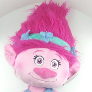 """Dreamworks Trolls Poppy 22"""" Pillow Buddy Pillow Pal Pink New with tags for Sale in Schaumburg, IL"""