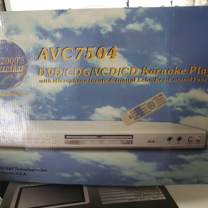 Dvd ,Vcr CD karaoke player for Sale in Woodmere, NY