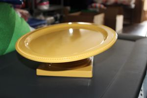 Melamine yellow cake stand for Sale in Riverside, CA