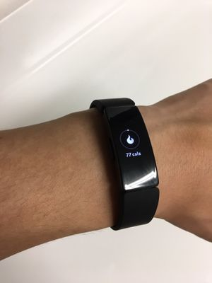 Fitbit Inspire HR black. Workout watch for Sale in Belmont, CA