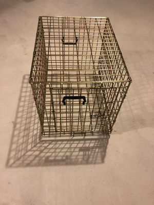 Large Dog Crate from American builders home for Digs and cats for Sale in Walpole, MA