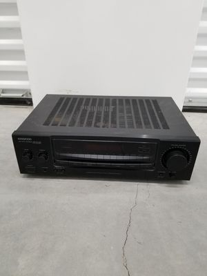 Kenwood home stereo receiver w/ phono input for Sale in Burnsville, MN