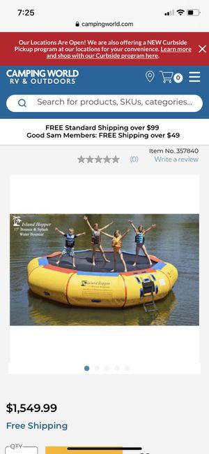 17ft Bounce-N-Splash Water Bouncer by Island Hopper for Sale in Oakland Park, FL
