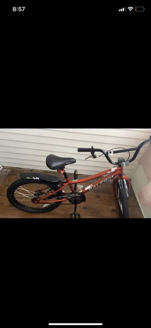 Kids bike with helmet for Sale in Manchester, NH