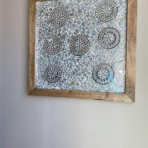 "24""x24"" Framed mirror/glass Wall Art for Sale in Huntington Beach, CA"
