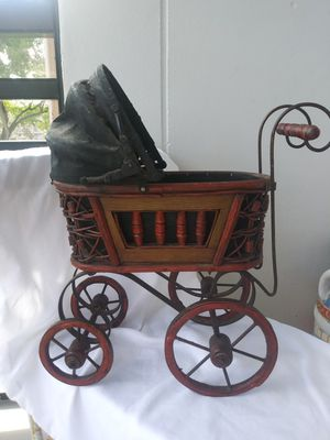 Antique Victoria Pram Baby Doll Carriage for Sale in Fort Lauderdale, FL