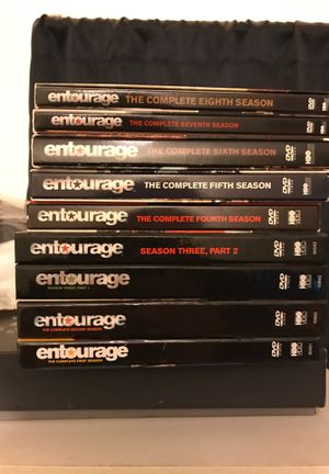 Entourage the Complete Series DVD Set for Sale in Downey, CA