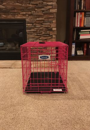 Pink dog cage for Sale in Draper, UT
