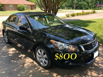 ✅🟢💲8OO Urgently Selling By Owner 2OO9 💚 Honda Accord V6 EX-L Comfortable fully loaded.Clean tittle!!✅🟢!!! for Sale in Seattle,  WA