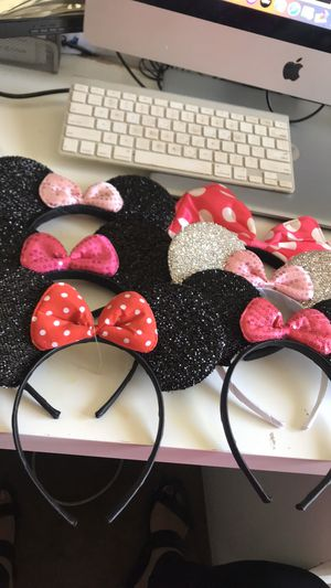 Minnie mouse ears headbands for Sale in Monrovia, CA