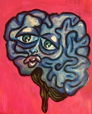 Sad Brain Painting $100 for Sale in Silver Spring, MD