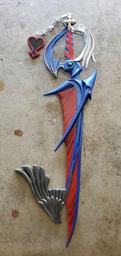 Kingdom hearts ps3 riku keyblade for Sale in Riverside,  CA