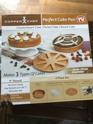 Copper chef perfect cake pan for Sale in Zephyrhills, FL