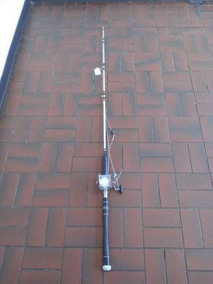 Master fishing rod with pen peer reel for Sale in Milwaukie, OR