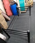 Heavy duti solid metal twin-size bed frame for Sale in San Diego, CA