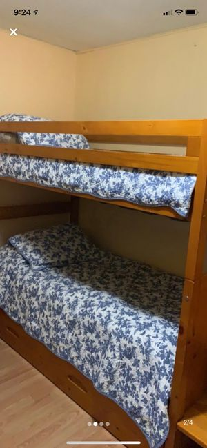 Bunk beds with trundle for Sale in White Hall, WV