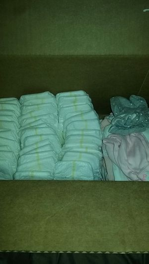 40 preemie diapers and also clothes preemie clothes brand new and much more for Sale in North Lauderdale, FL