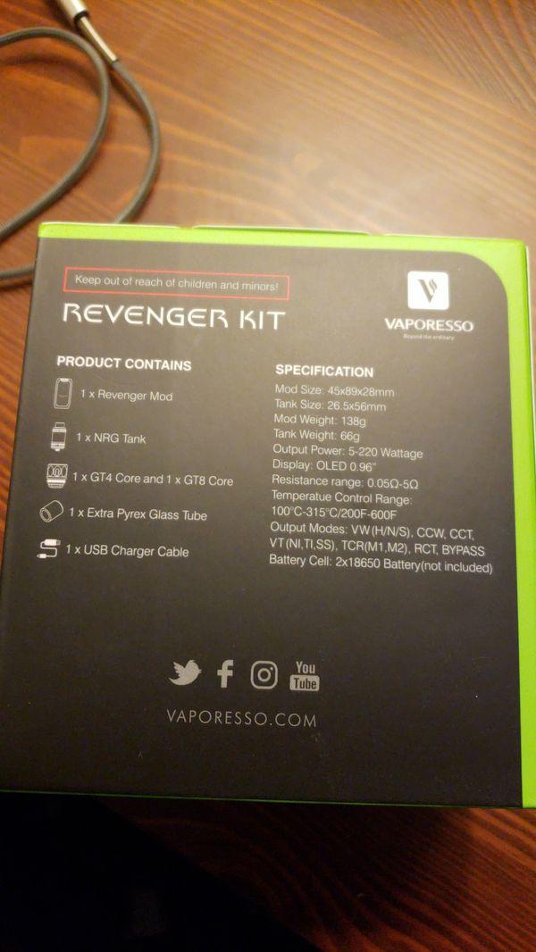 Vaporesso Revenger Kit (GREEN)