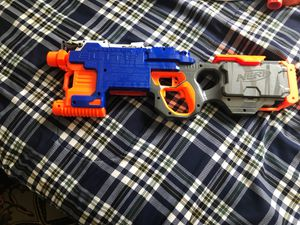 Nerf elite hyperfire willing to trade for rapid strike for Sale in Covina, CA