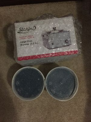 Starpil Large Wax warmer and 2 Container of Beads for Sale in The Bronx, NY