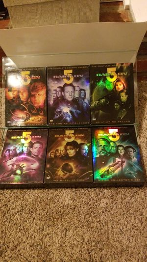 Babylon 5 complete series 1-5 + movie collection (all dvds) for Sale in Seymour, CT