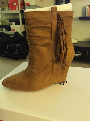 Just fab fringe boot for Sale in Chelsea, MA