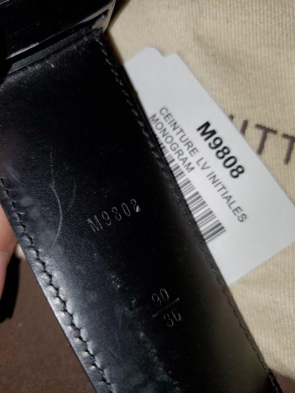 Louis vuitton belt size 36 OFFER ME PRICES