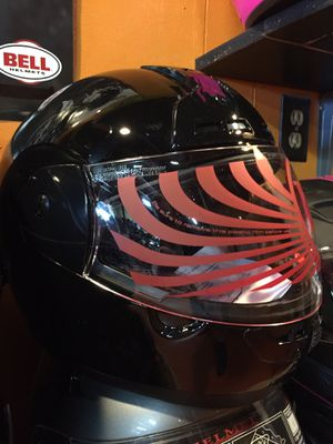 New gloss black dot motorcycle helmet $60 for Sale in Santa Fe Springs, CA