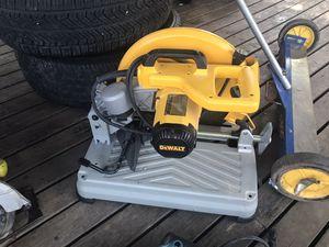 DeWalt Chop Saw for Sale in Dallas, TX