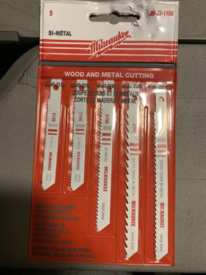 Milwaukee 49-22-1168 Jig Saw Blade for Sale in Oakland, CA