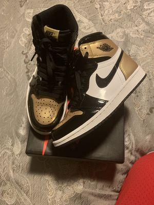 Jordan 1 gold toes for Sale in Falls Church, VA