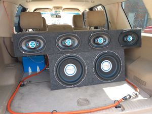 Subs and 6x9s for Sale in Houston, TX