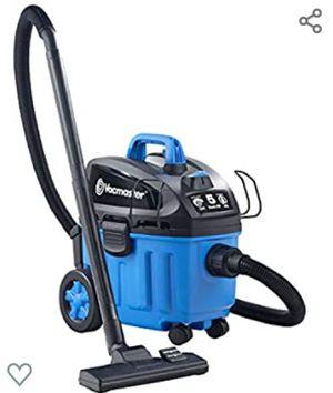 Vacmaster 4 Gallon, 5 Peak HP with 2-Stage Industrial Motor Wet/Dry Floor Vacuum, VF408, Blue for Sale in Santee, CA